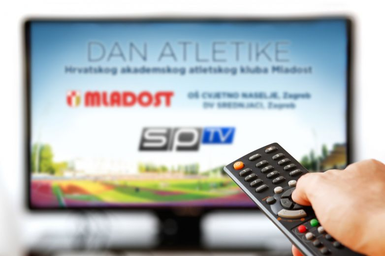 Dan atletike HAAK Mladost na Sportskoj televiziji SPTV